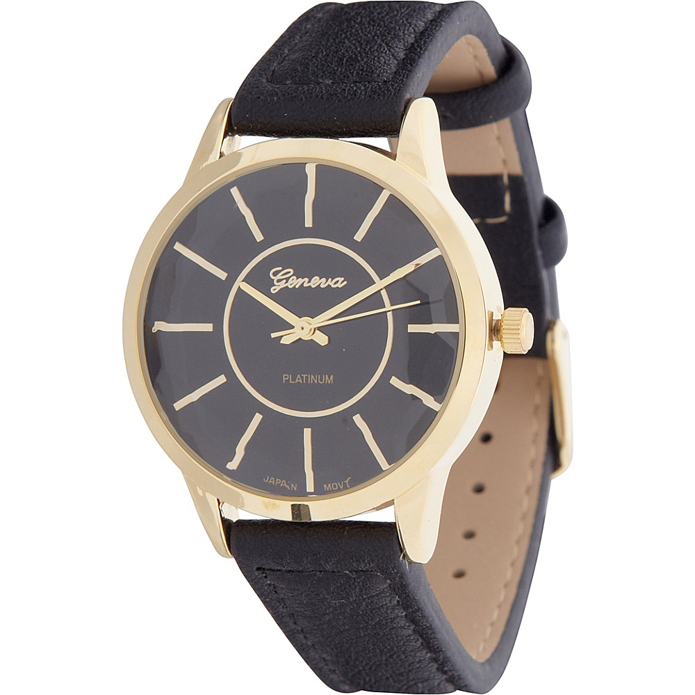 Samoe Round Classic Watch Black Samoe Watches