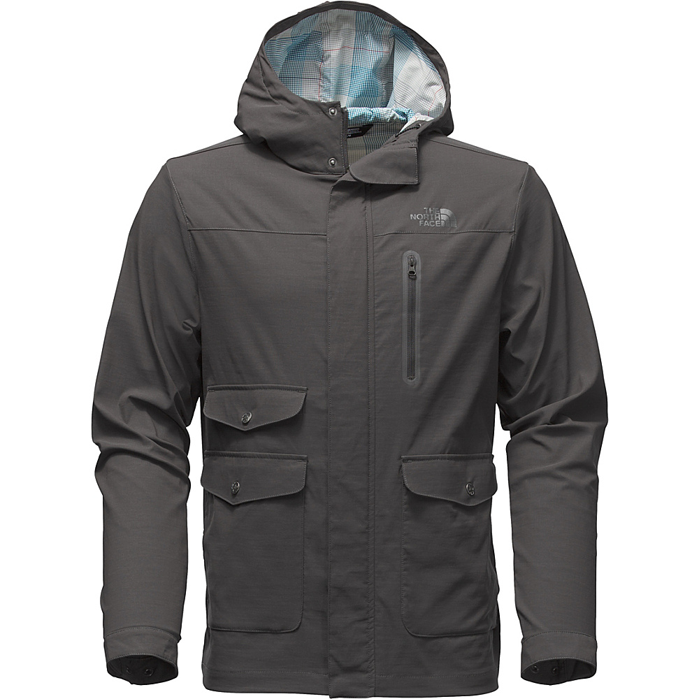 The North Face Mens Ultimate Travel Jacket M - Asphalt Grey - The North Face Mens Apparel - Apparel & Footwear, Men's Apparel