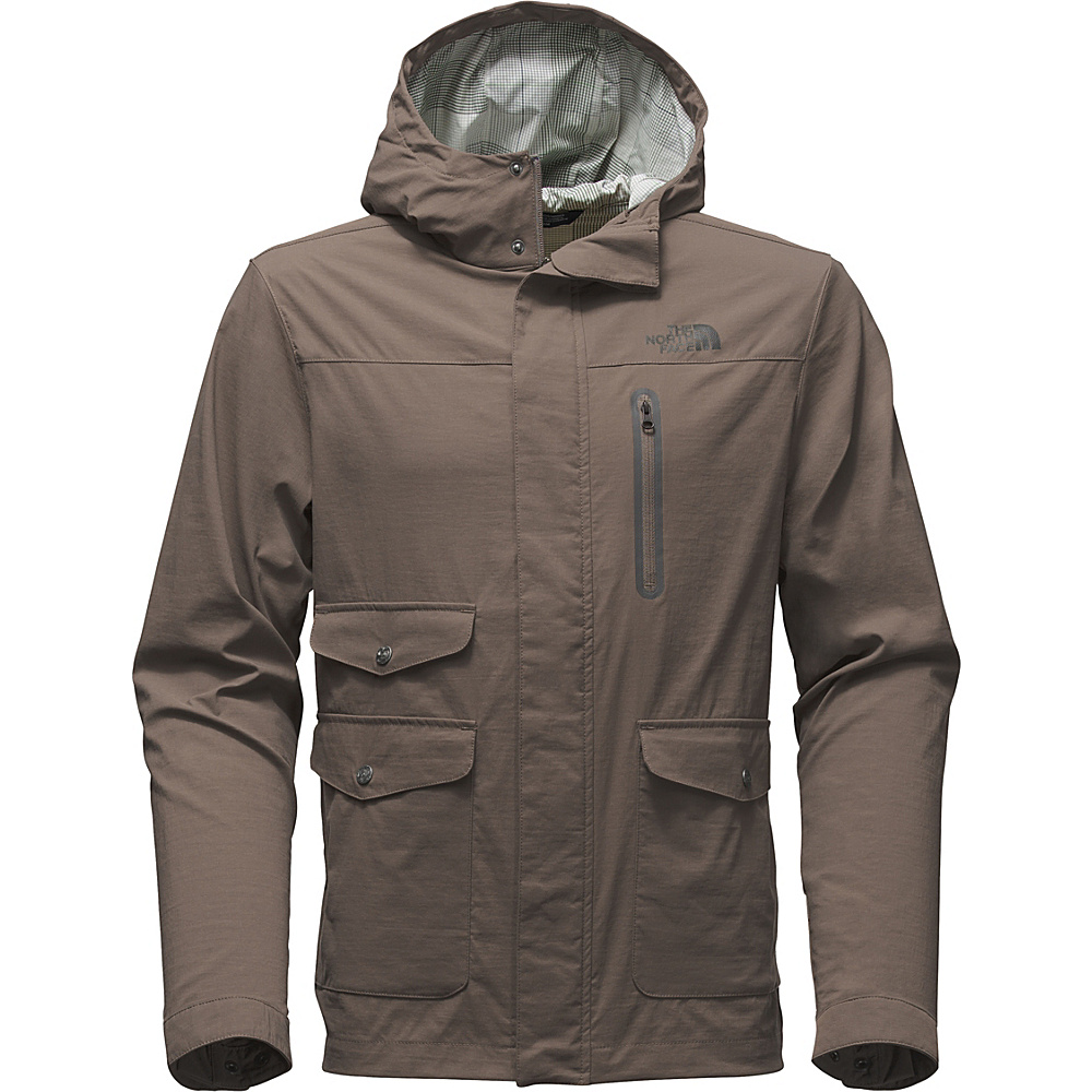 The North Face Mens Ultimate Travel Jacket M - Weimaraner Brown - The North Face Mens Apparel - Apparel & Footwear, Men's Apparel