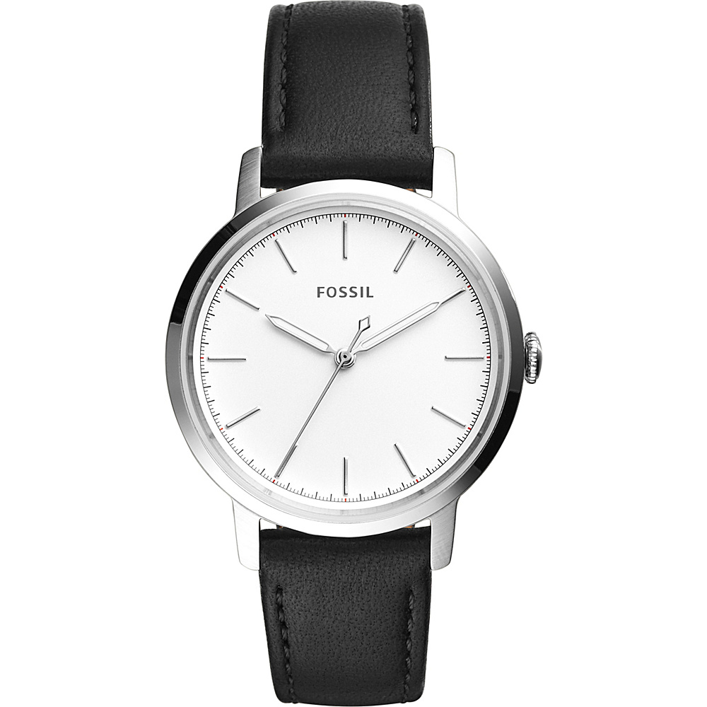 Fossil Neely Multifunction Leather Watch Black - Fossil Watches - Fashion Accessories, Watches