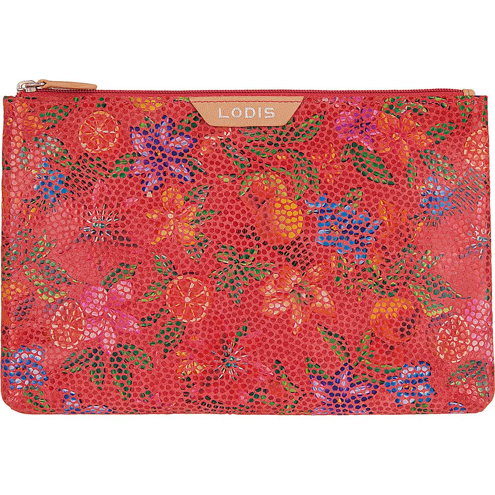 Lodis Fruitilicious Flat pouch Cherry - Lodis Womens Wallets - Women's SLG, Women's Wallets
