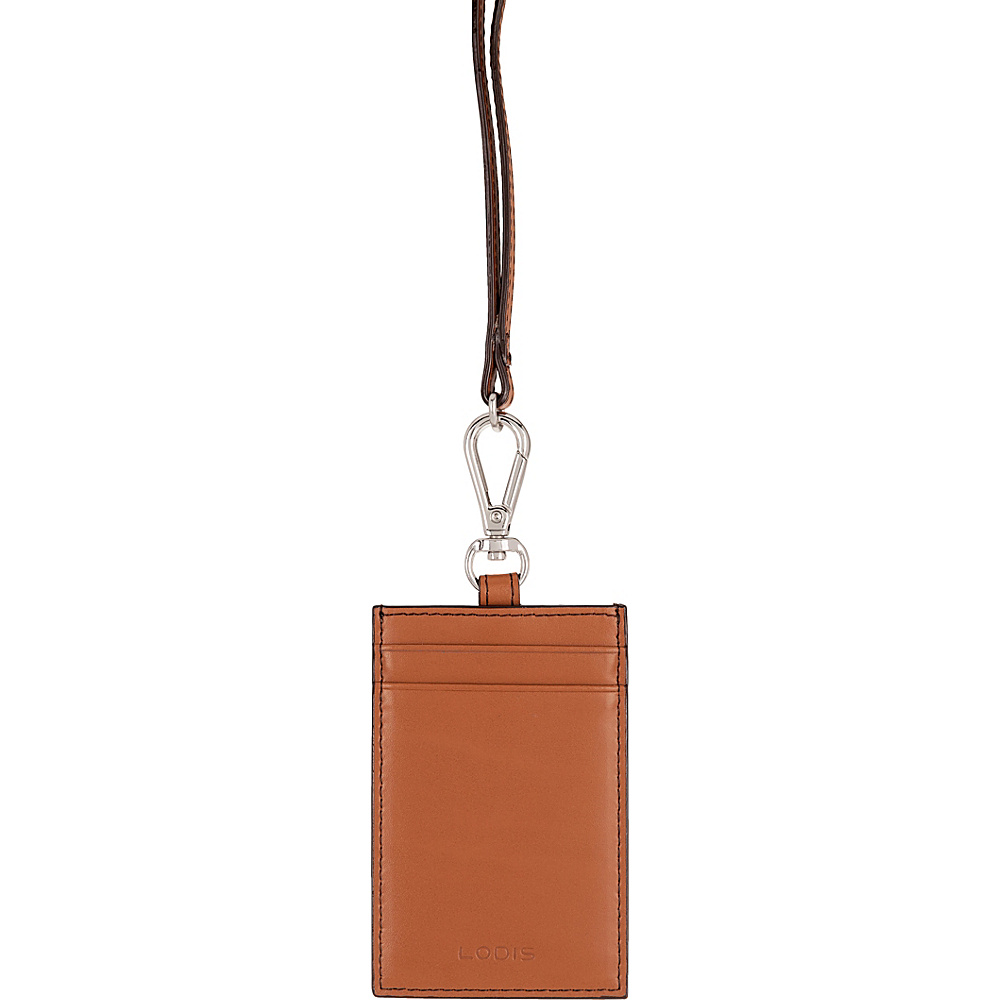 Lodis Audrey Echo Card Case w/ Lanyard Toffee - Lodis Womens SLG Other - Women's SLG, Women's SLG Other