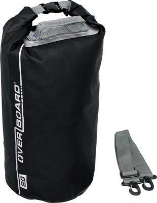 Roc Gear 20L Waterproof Dry Tube Bag Black - Roc Gear Outdoor Accessories