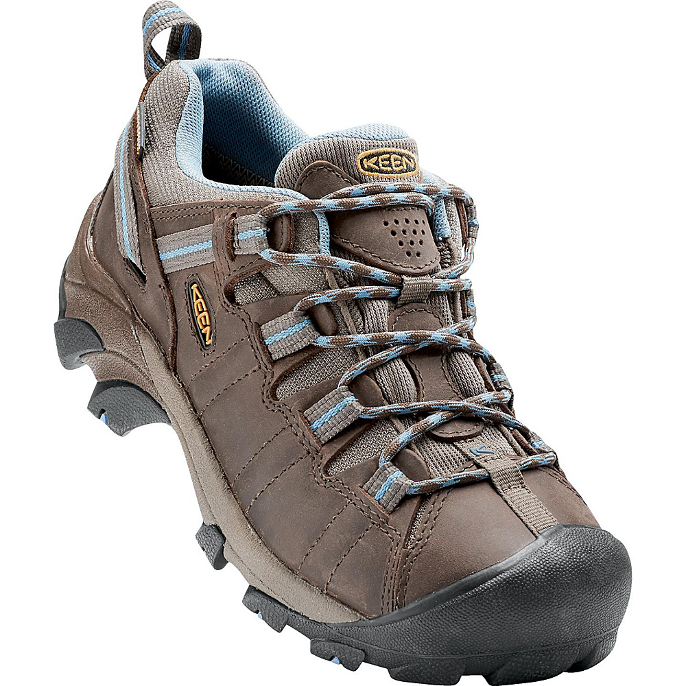 KEEN Womens Targhee II Waterproof Hiking Shoe 10 - Dark Earth/Allure - KEEN Womens Footwear - Apparel & Footwear, Women's Footwear