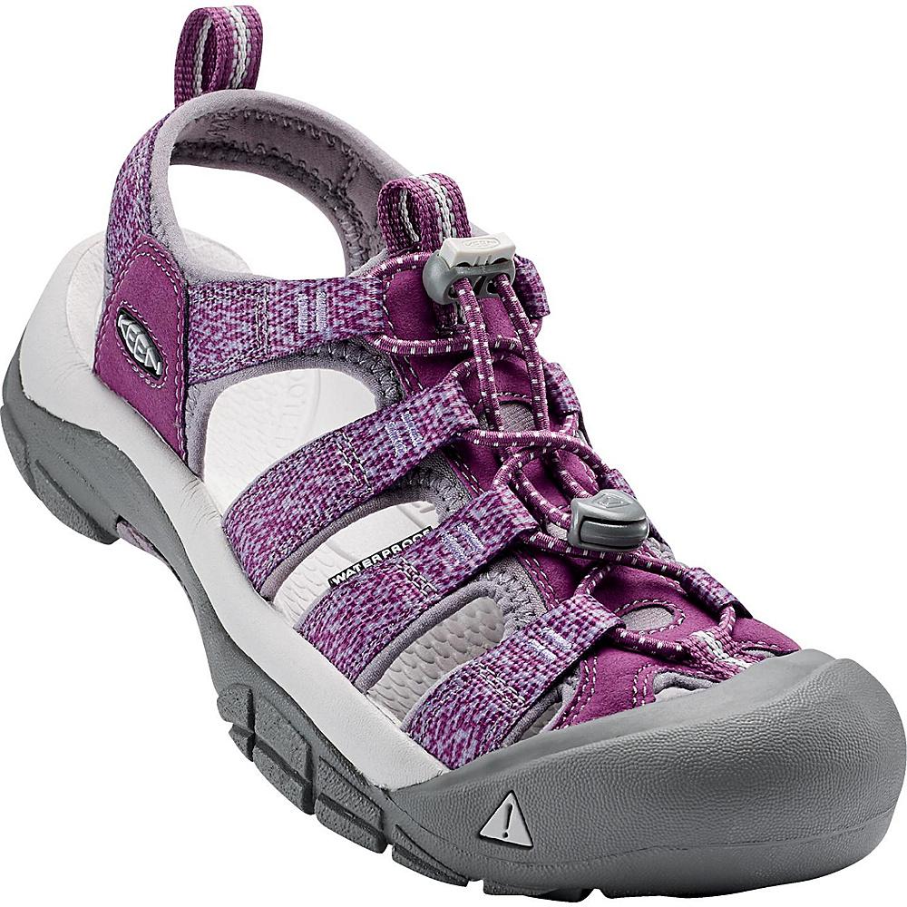 KEEN Womens Newport H2 Sandal 5 - Deep Purple/Purple Sage - KEEN Womens Footwear - Apparel & Footwear, Women's Footwear