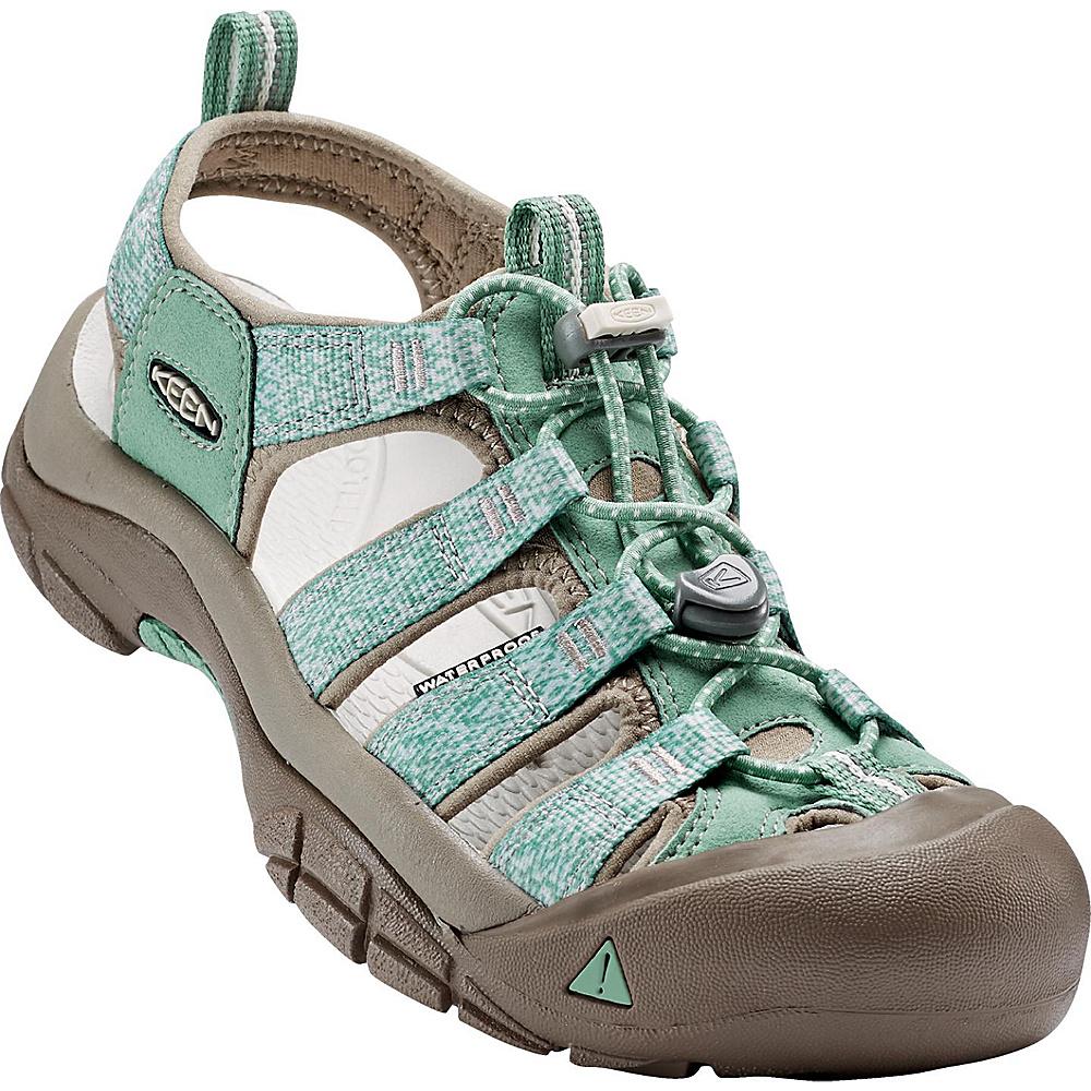 KEEN Womens Newport H2 Sandal 8 - Malachite/Silver Branch - KEEN Womens Footwear - Apparel & Footwear, Women's Footwear