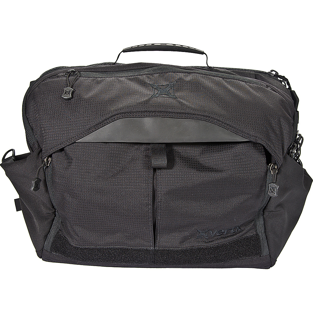Vertx EDC Courier Messenger Bag Black - Vertx Messenger Bags - Work Bags & Briefcases, Messenger Bags