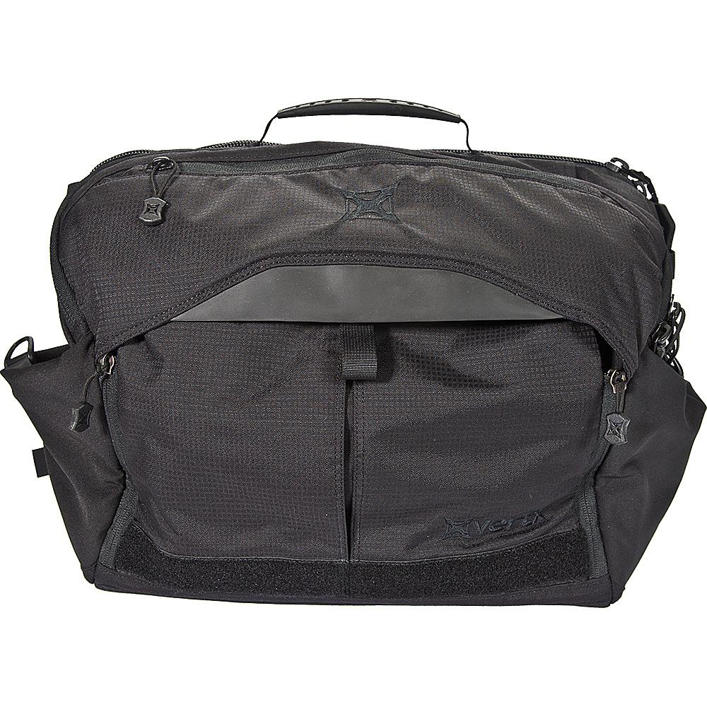 Vertx EDC Courier Messenger Bag Black - Vertx Messenger Bags - Work Bags & Briefcases, Messenger Bags