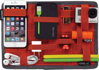 Cocoon GRID-IT! Organizer 7.55 inch x 10.5 inch Red - Cocoon Electronic Accessories