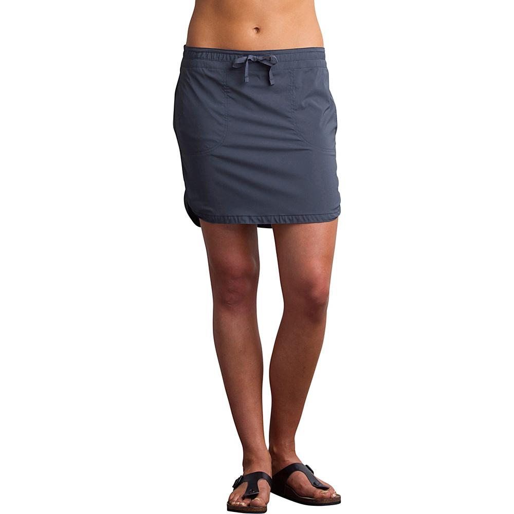 ExOfficio Womens Sol Cool Skirt 4 - Carbon - ExOfficio Womens Apparel - Apparel & Footwear, Women's Apparel