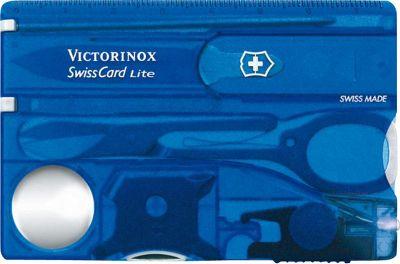 Victorinox Swiss Army SwissCard Lite Multi-Tool Sapphire - Victorinox Swiss Army Outdoor Accessories