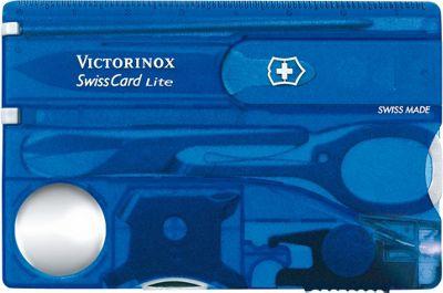 Victorinox Swiss Army SwissCard Multi-Tool Sapphire - Victorinox Swiss Army Outdoor Accessories