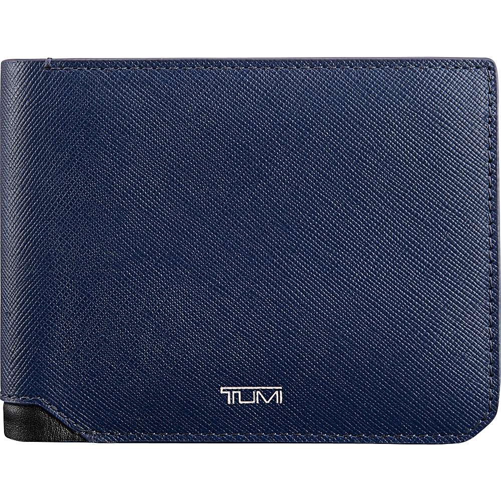 Tumi Mason Global Double Billfold Indigo - Tumi Mens Wallets - Work Bags & Briefcases, Men's Wallets