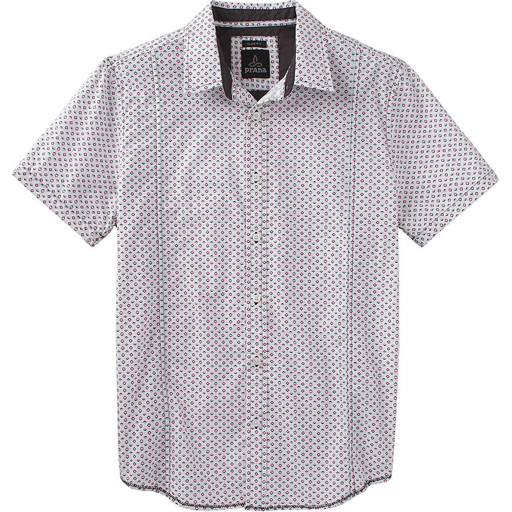 PrAna Lukas Slim Shirt XL - Charcoal - PrAna Mens Apparel - Apparel & Footwear, Men's Apparel
