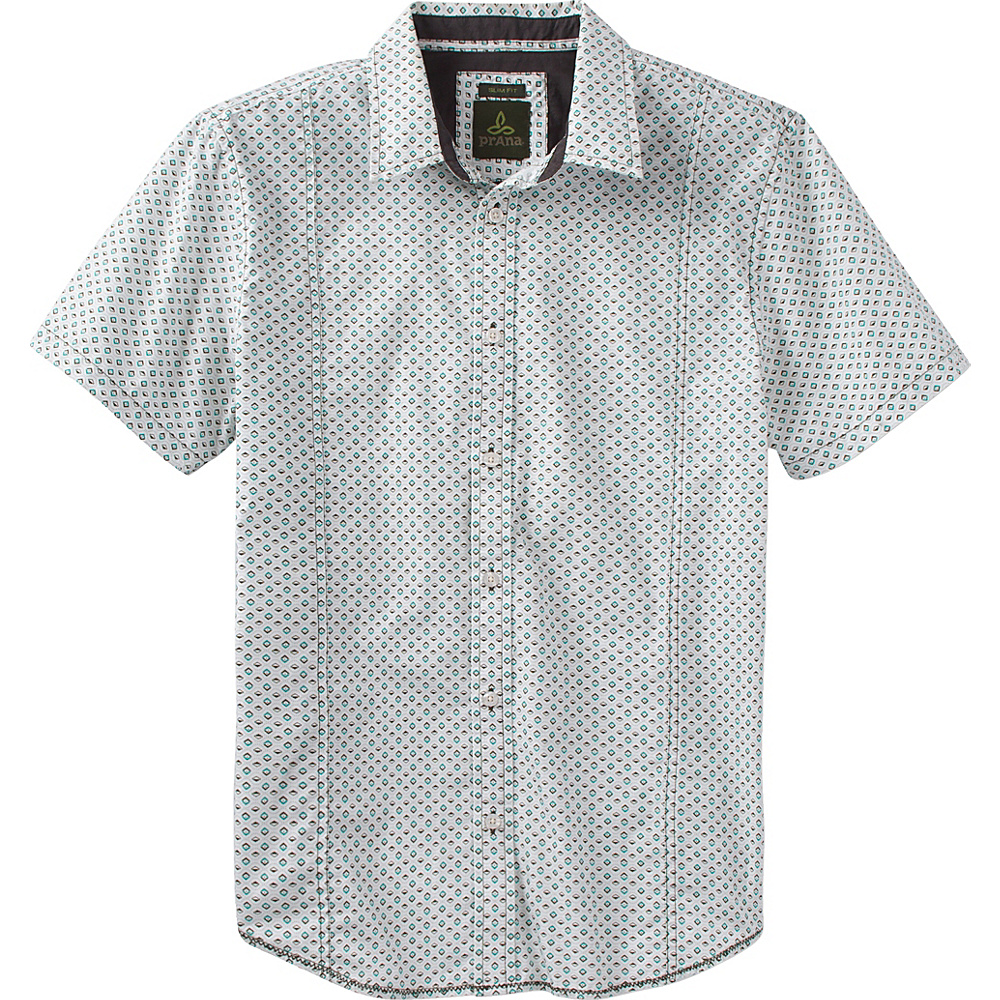 PrAna Lukas Slim Shirt XL - Emerald Waters - PrAna Mens Apparel - Apparel & Footwear, Men's Apparel