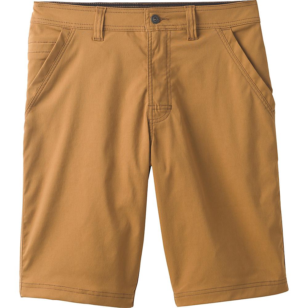 PrAna Zion Chino Short 32 - 11in - Dark Ginger - PrAna Mens Apparel - Apparel & Footwear, Men's Apparel