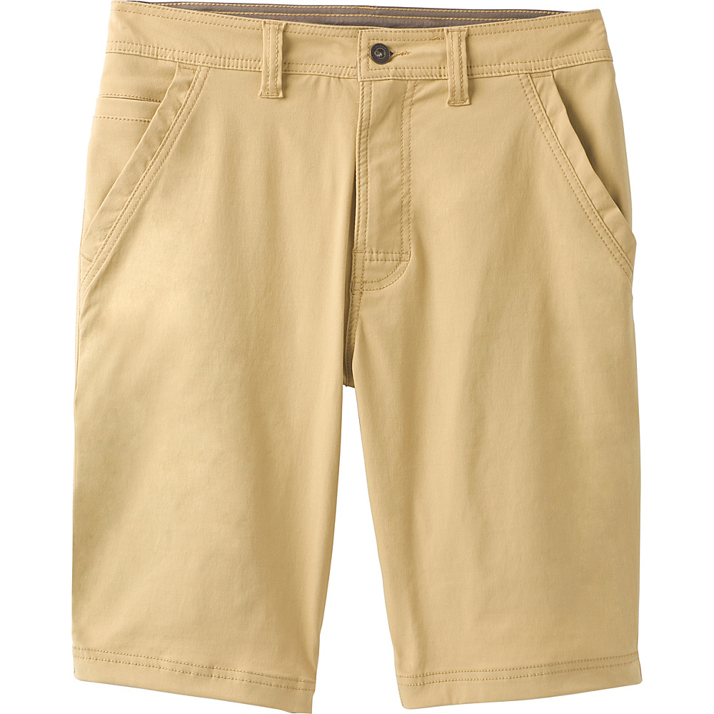 PrAna Zion Chino Short 38 - Sandpiper - PrAna Mens Apparel - Apparel & Footwear, Men's Apparel