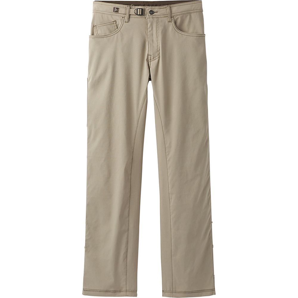 PrAna Zioneer Pant - 32 Inseam 28 - Dark Khaki - PrAna Mens Apparel - Apparel & Footwear, Men's Apparel