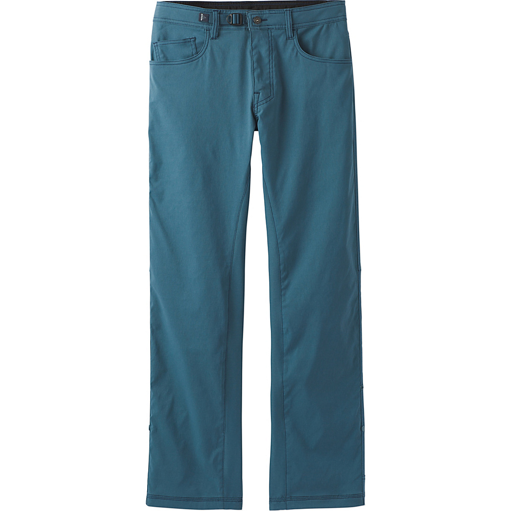 PrAna Zioneer Pant - 32 Inseam 35 - Mood Indigo - PrAna Mens Apparel - Apparel & Footwear, Men's Apparel