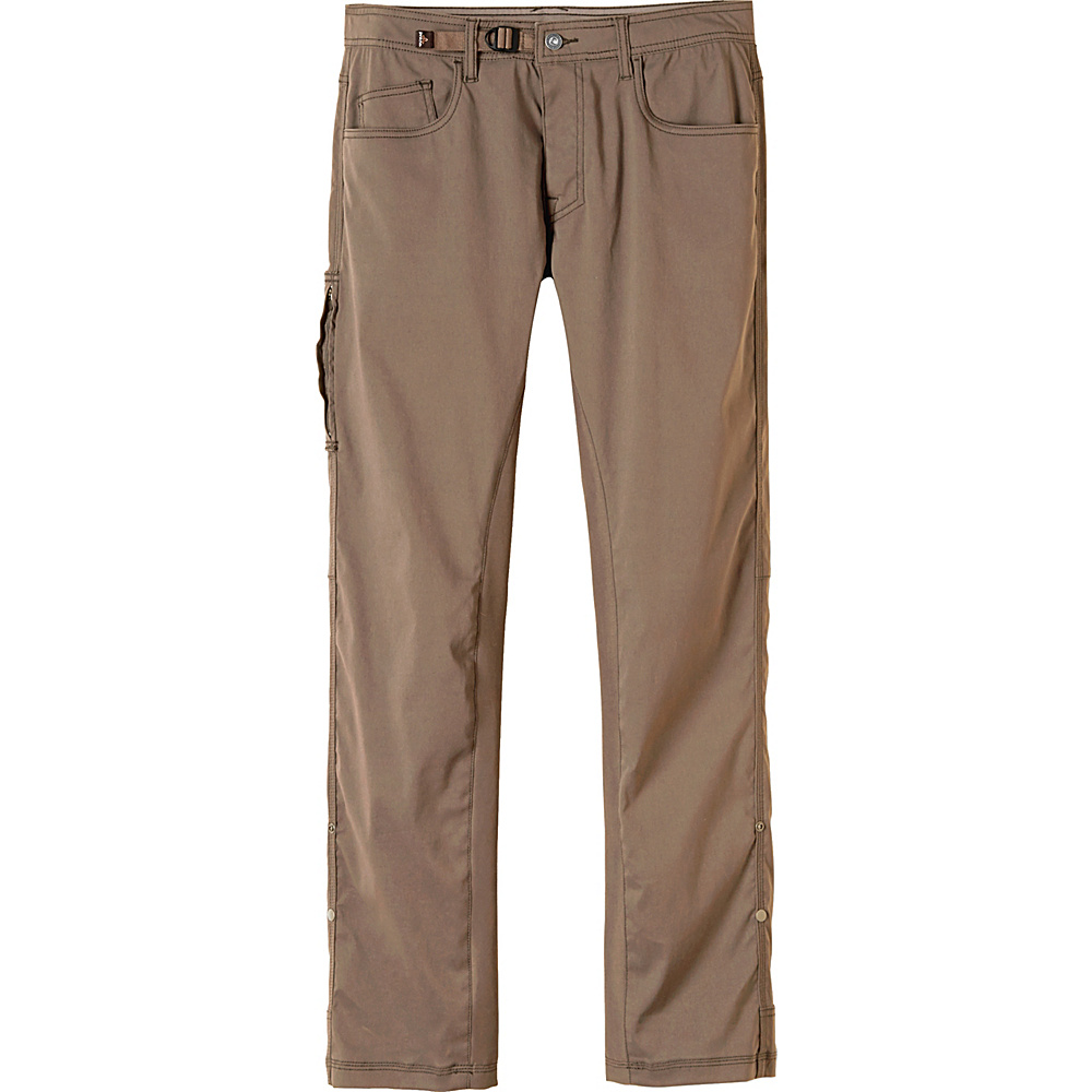 PrAna Zioneer Pant - 32 Inseam 34 - Mud - PrAna Mens Apparel - Apparel & Footwear, Men's Apparel