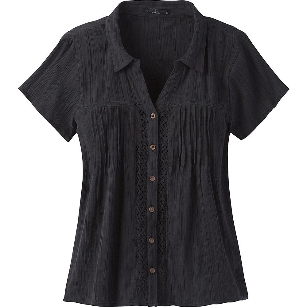 PrAna Katya Top M - Black - PrAna Womens Apparel - Apparel & Footwear, Women's Apparel
