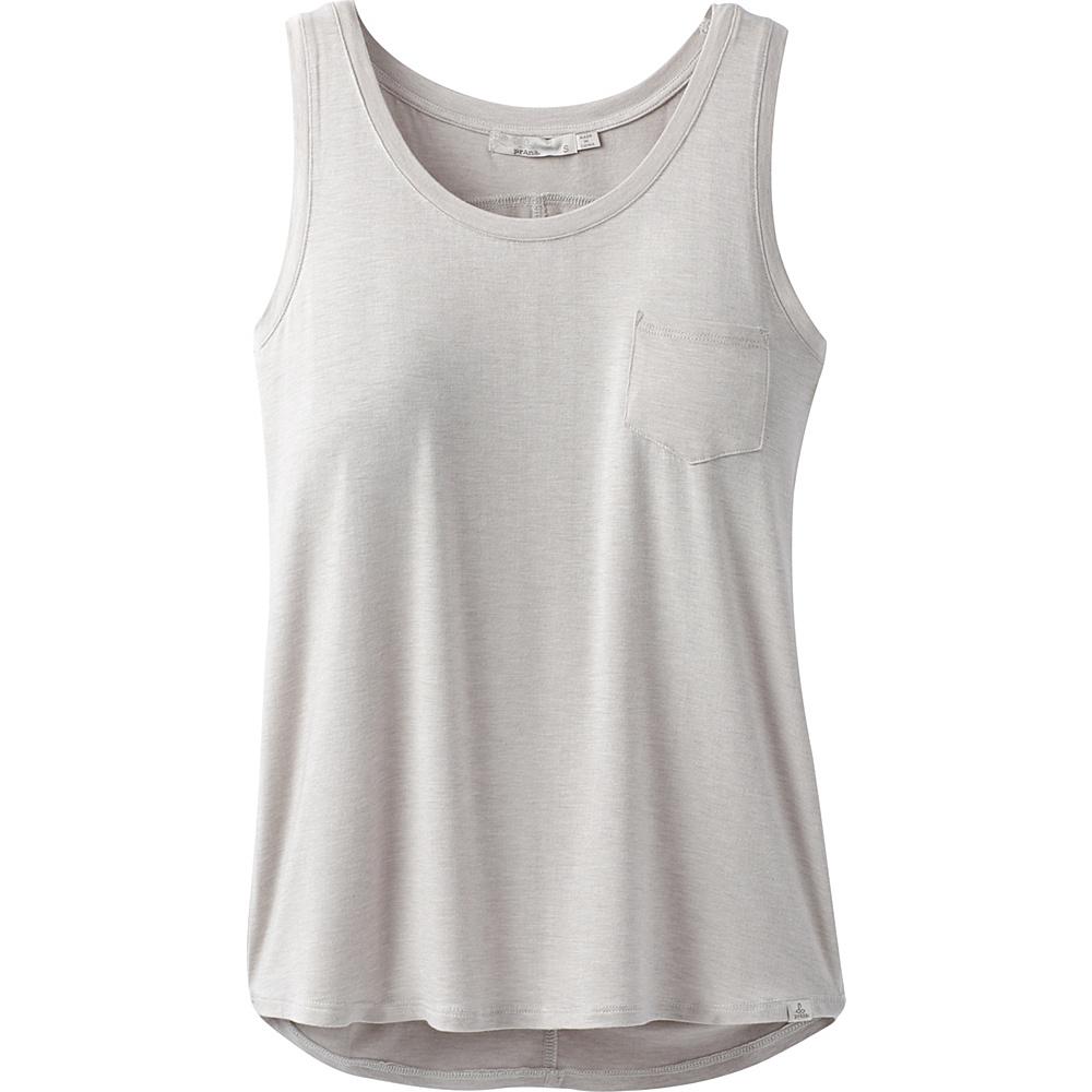 PrAna Foundation Scoop Neck Tank XS - Light Grey Heather - PrAna Womens Apparel - Apparel & Footwear, Women's Apparel
