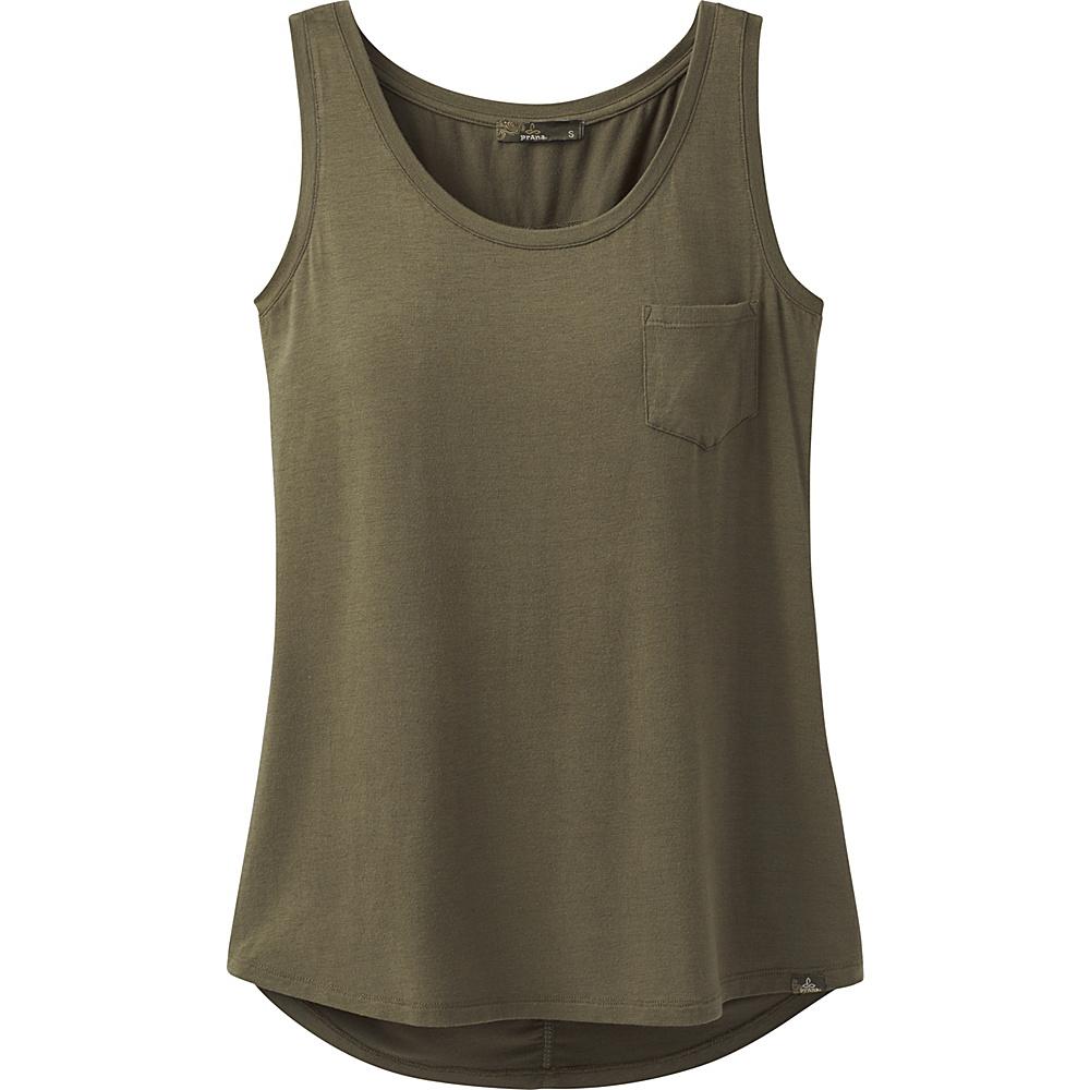 PrAna Foundation Scoop Neck Tank XL - Cargo Green - PrAna Womens Apparel - Apparel & Footwear, Women's Apparel