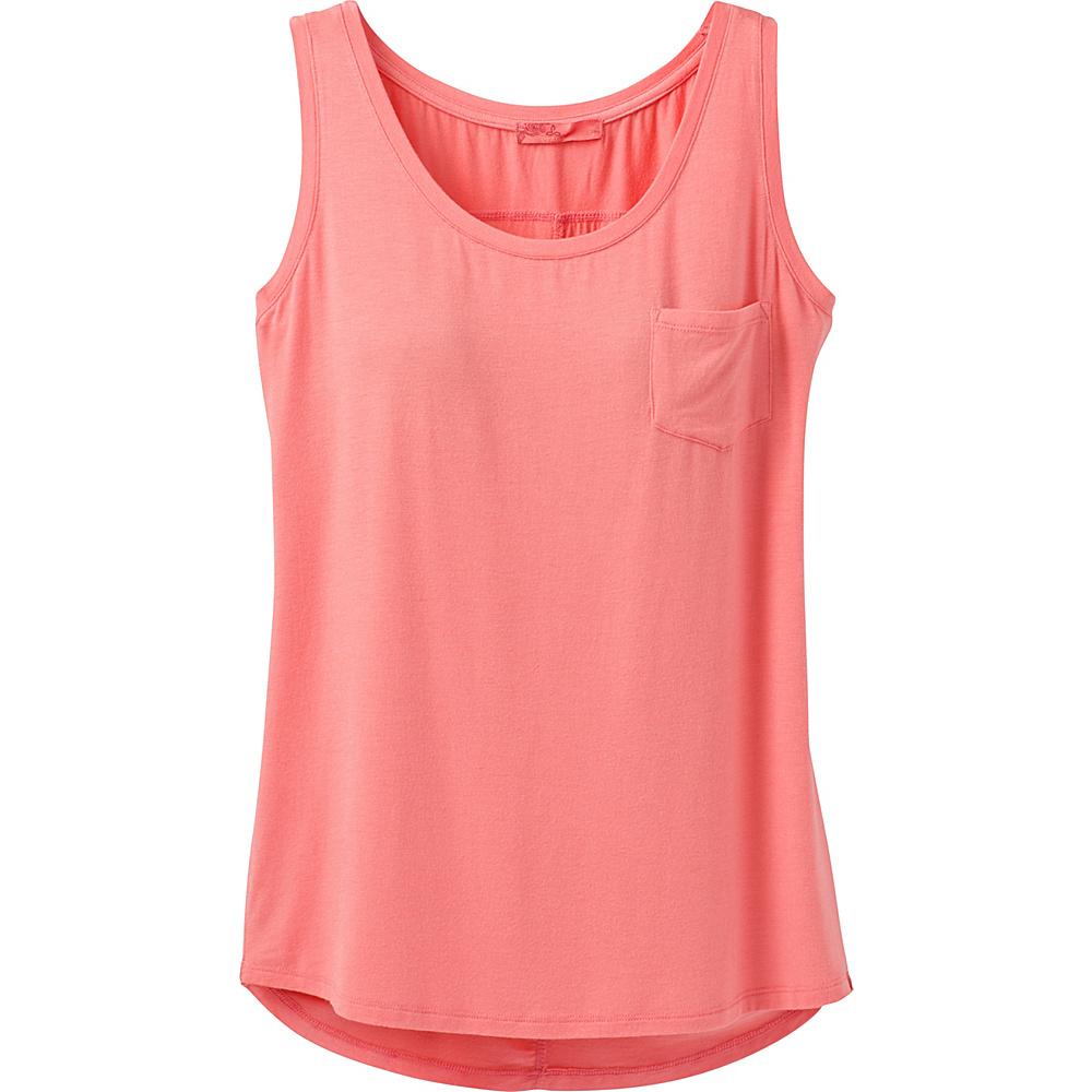 PrAna Foundation Scoop Neck Tank XL - Summer Peach - PrAna Womens Apparel - Apparel & Footwear, Women's Apparel