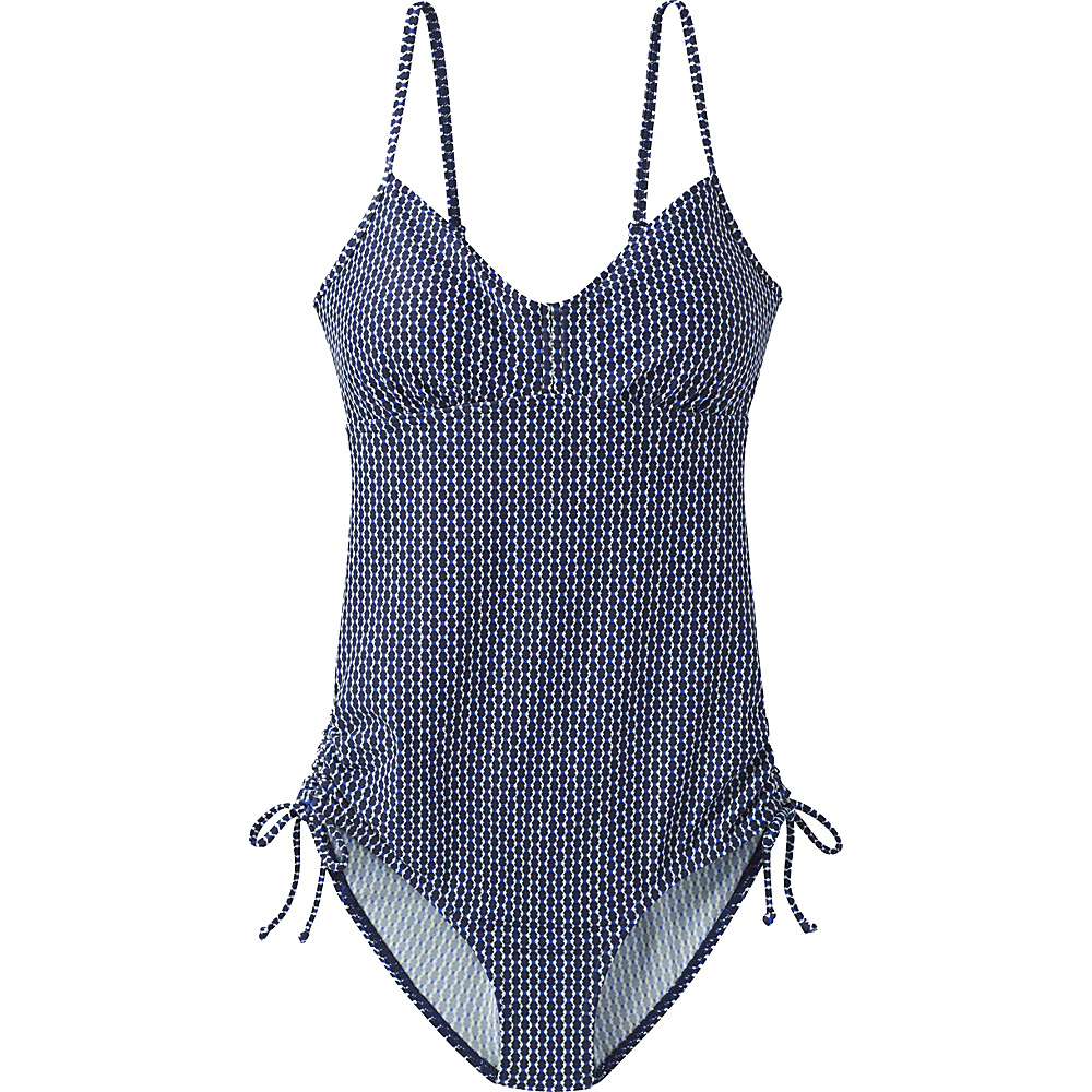 PrAna Moorea Swim One Piece XS - Indigo Thera - PrAna Womens Apparel - Apparel & Footwear, Women's Apparel
