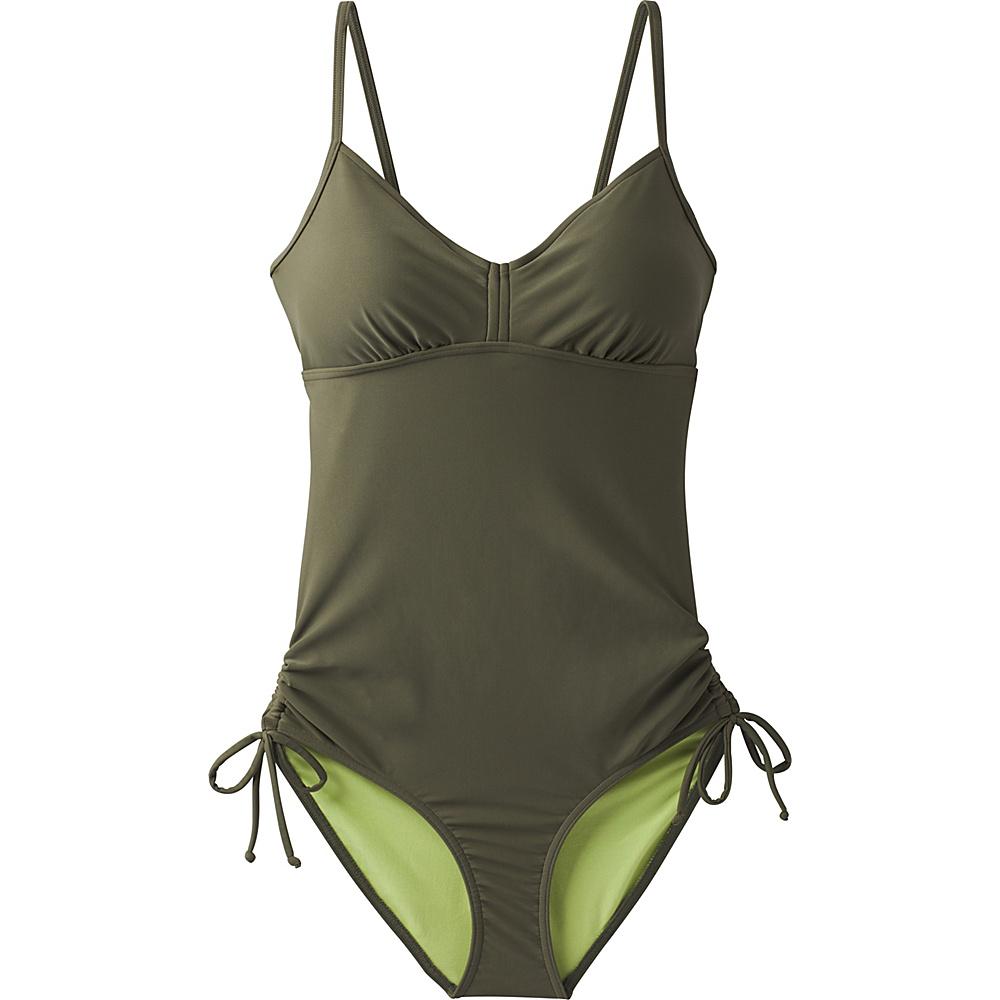 PrAna Moorea Swim One Piece L - Cargo Green - PrAna Womens Apparel - Apparel & Footwear, Women's Apparel