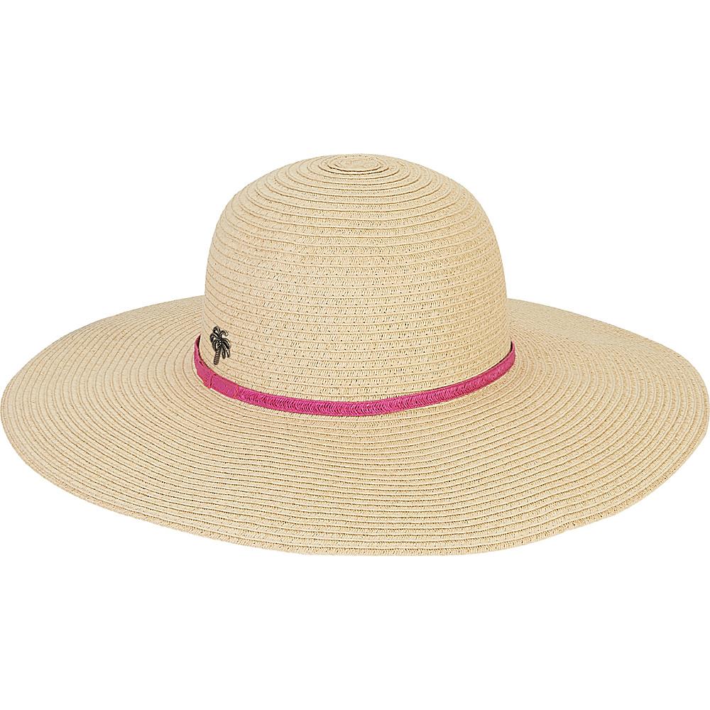 Sun N Sand Paper Braid Hat Fuchsia - Sun N Sand Hats/Gloves/Scarves - Fashion Accessories, Hats/Gloves/Scarves