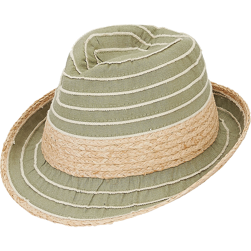 Sun N Sand Fedoras B-Moss - Sun N Sand Hats/Gloves/Scarves - Fashion Accessories, Hats/Gloves/Scarves