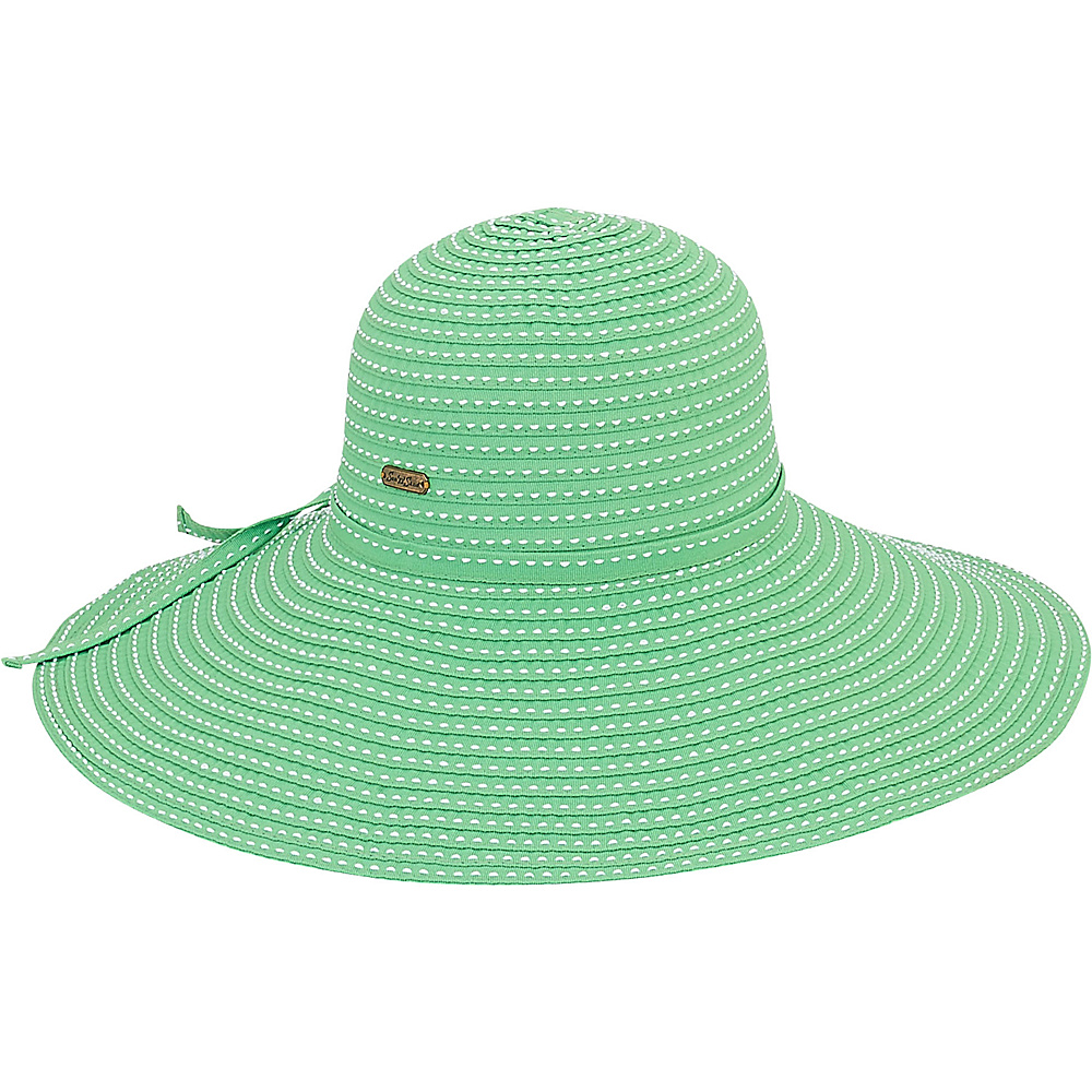 Sun N Sand Ribbons Hat K-Green - Sun N Sand Hats - Fashion Accessories, Hats