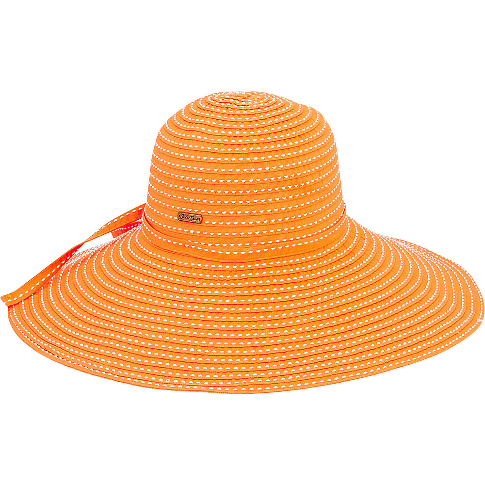 Sun N Sand Ribbons Hat L-Orange - Sun N Sand Hats - Fashion Accessories, Hats