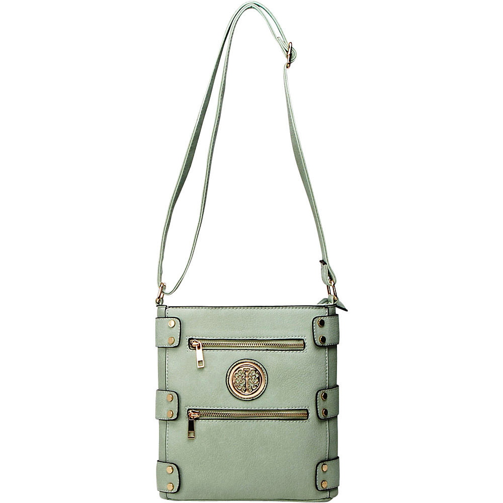 MKF Collection by Mia K. Farrow Adriana Crossbody Seafoam - MKF Collection by Mia K. Farrow Manmade Handbags - Handbags, Manmade Handbags