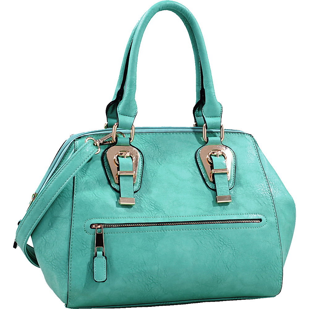 MKF Collection by Mia K. Farrow Riley Satchel Light Green - MKF Collection by Mia K. Farrow Manmade Handbags - Handbags, Manmade Handbags