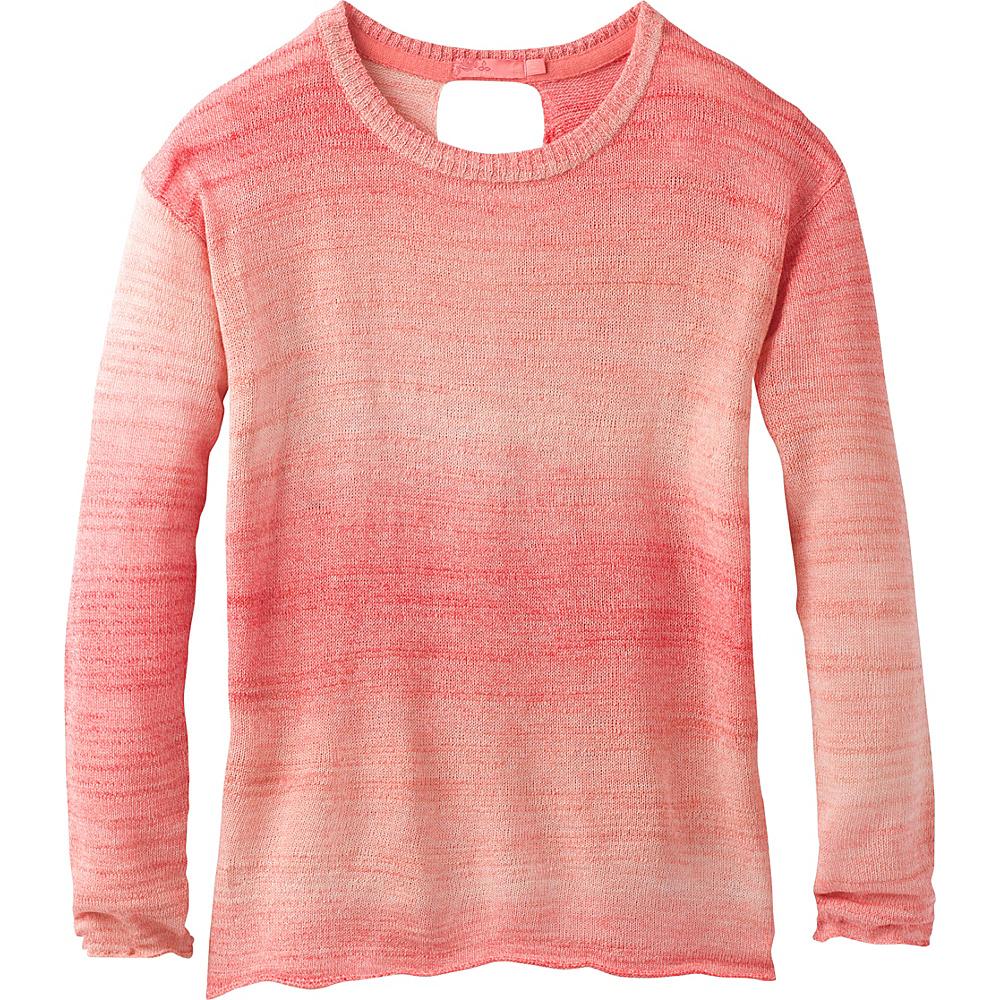 PrAna Nightingale Sweater XL - Sunset Pink - PrAna Womens Apparel - Apparel & Footwear, Women's Apparel