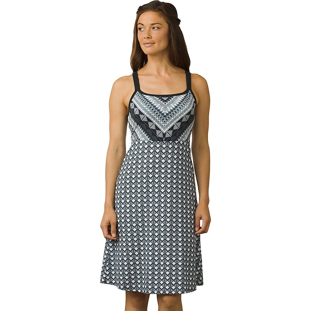 PrAna Cora Dress M - Sashay Cobblestone - PrAna Womens Apparel - Apparel & Footwear, Women's Apparel