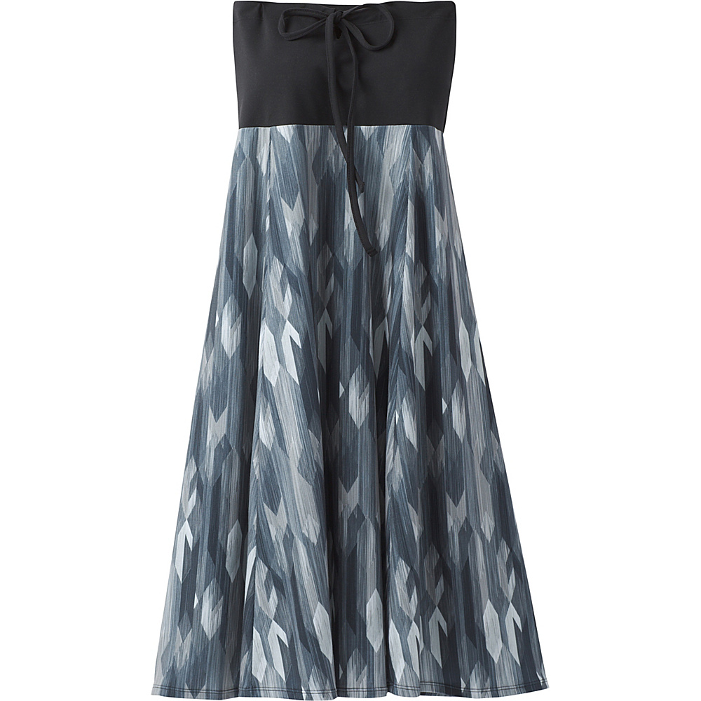 PrAna Solana Dress XS - Charcoal Gemstone - PrAna Womens Apparel - Apparel & Footwear, Women's Apparel