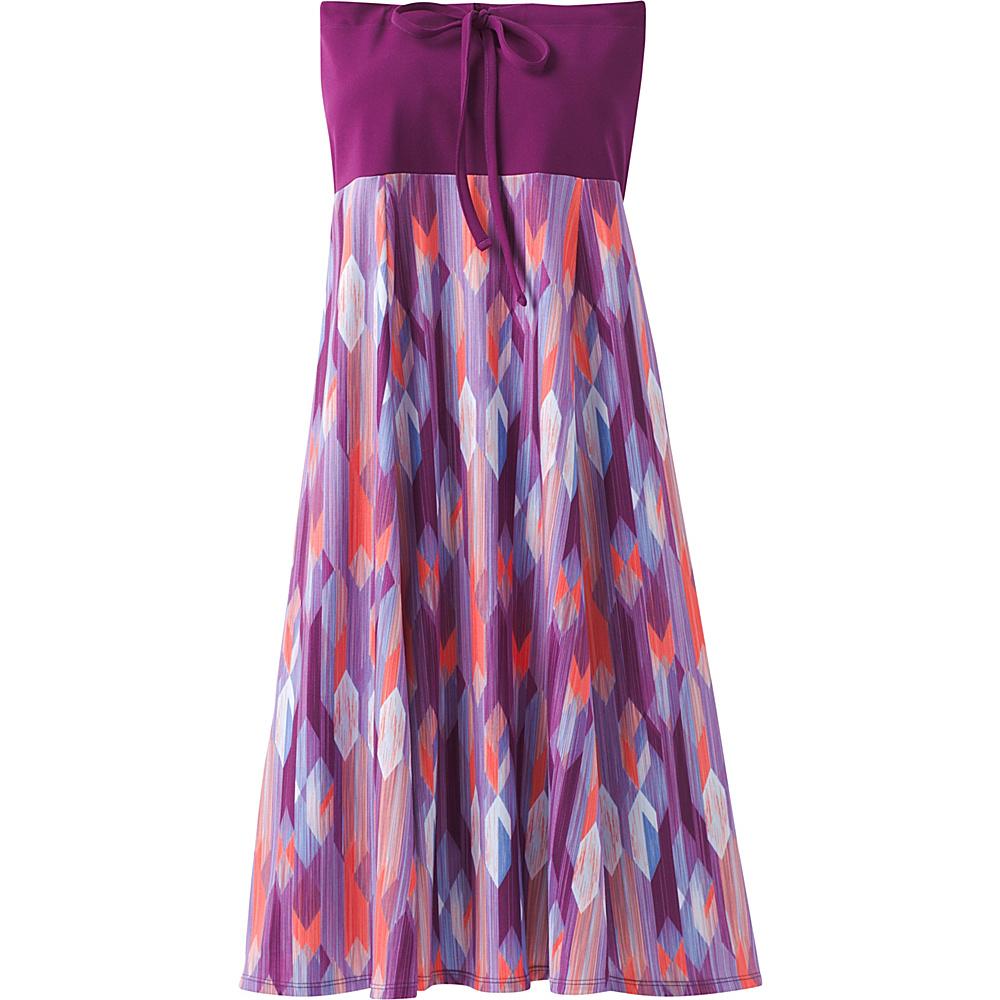 PrAna Solana Dress M - Grapevine Gemstone - PrAna Womens Apparel - Apparel & Footwear, Women's Apparel