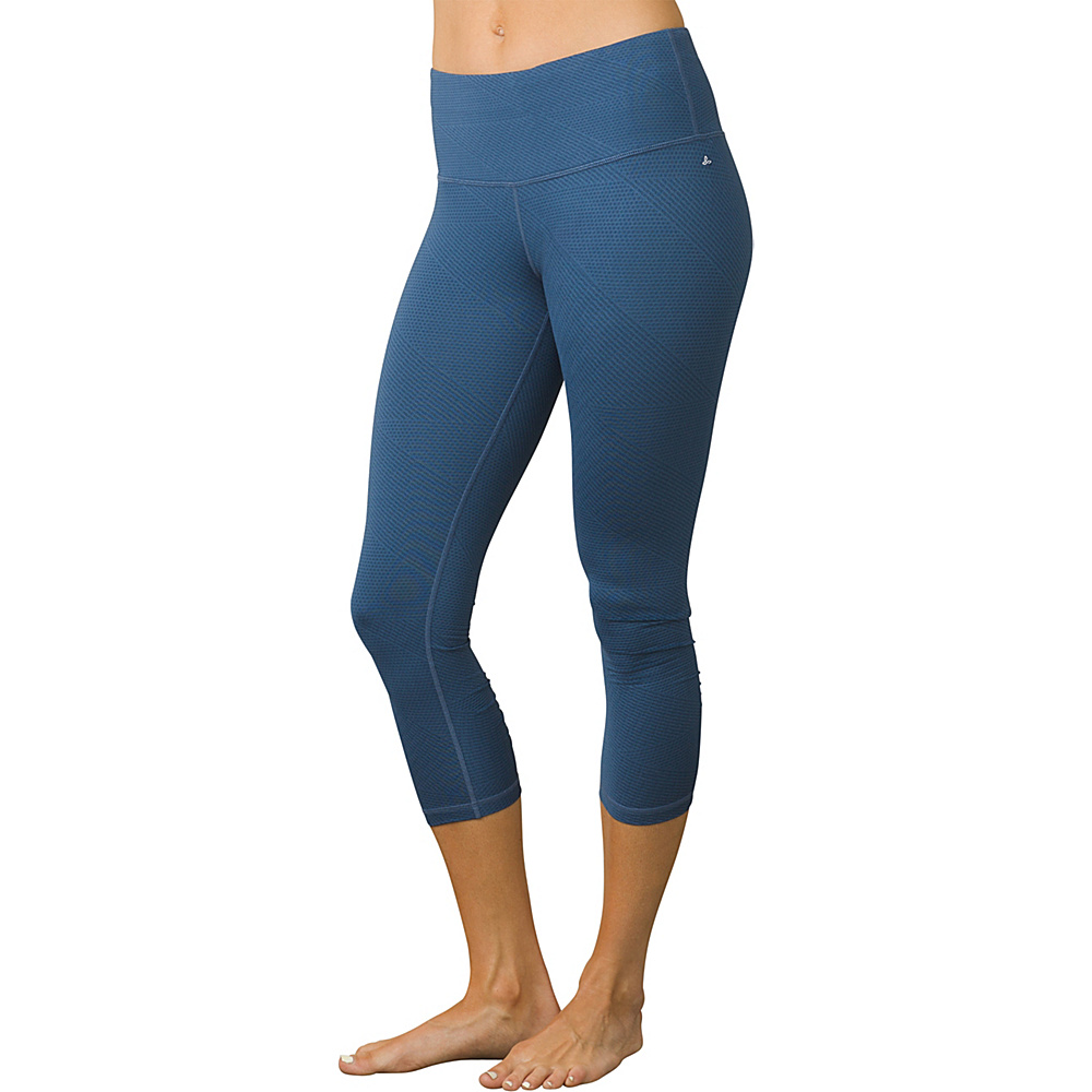 PrAna Misty Capri XS - Equinox Blue Geo - PrAna Womens Apparel - Apparel & Footwear, Women's Apparel