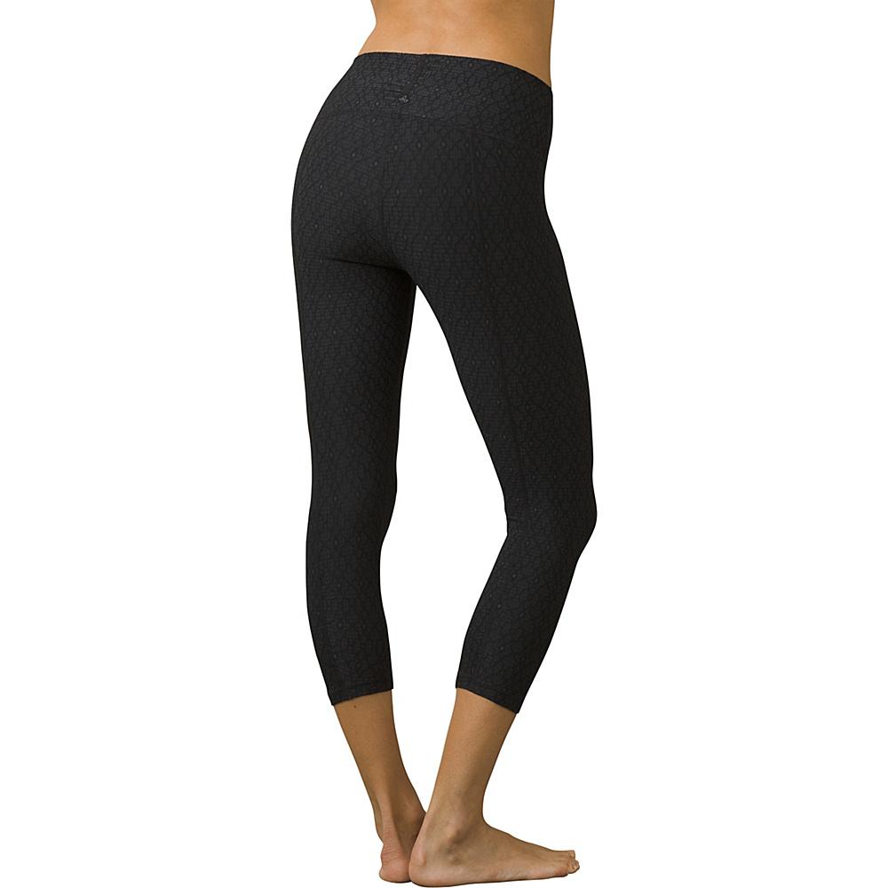 PrAna Misty Capri XL - Black Jacquard - PrAna Womens Apparel - Apparel & Footwear, Women's Apparel