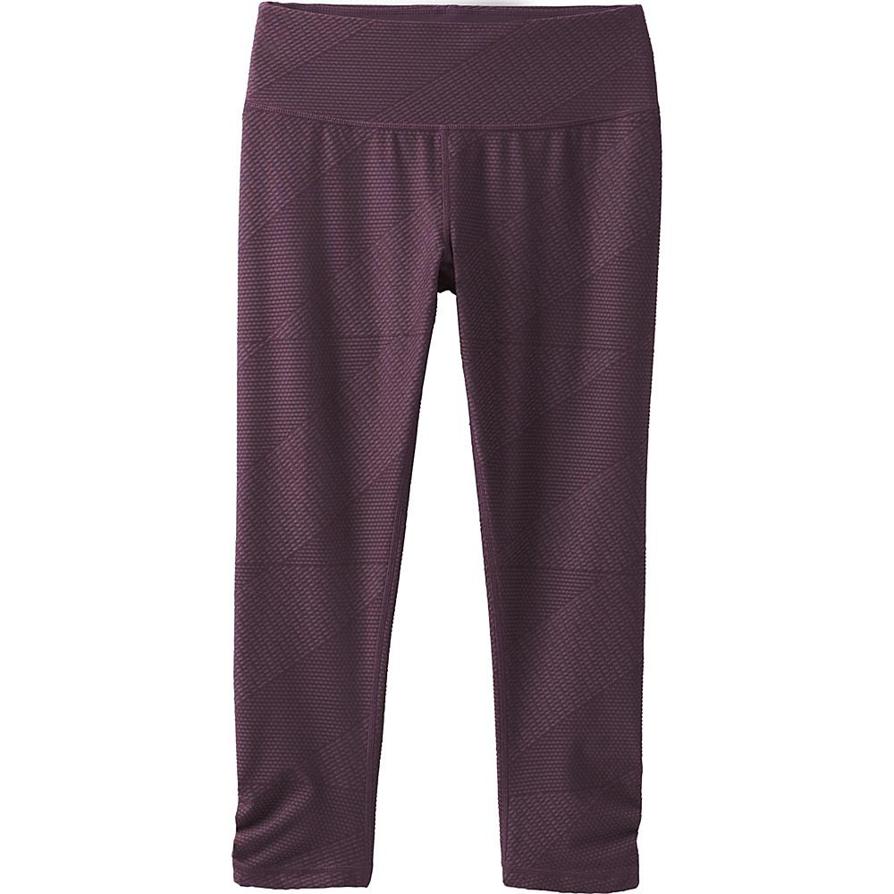 PrAna Misty Capri M - Dark Plum Geo - PrAna Womens Apparel - Apparel & Footwear, Women's Apparel