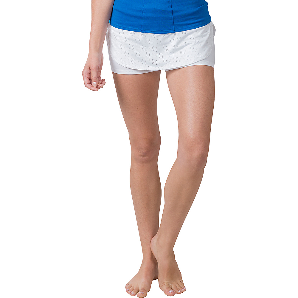 Soybu Field Day Skort XL - White - Soybu Womens Apparel - Apparel & Footwear, Women's Apparel