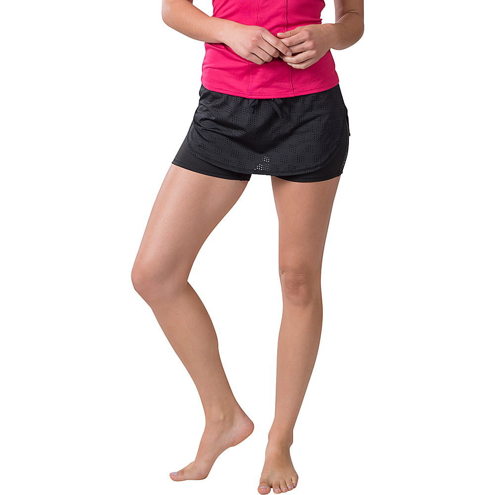 Soybu Field Day Skort M - Black - Soybu Womens Apparel - Apparel & Footwear, Women's Apparel