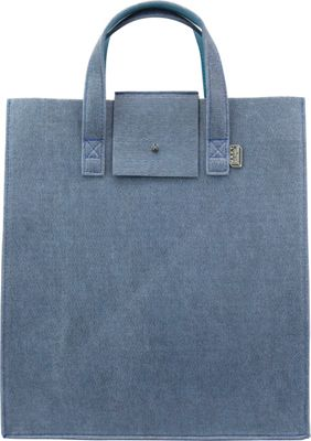 Mad Rabbit Kicking Tiger Parker Tote Skyscraper Blue - Mad Rabbit Kicking Tiger Women's Business Bags