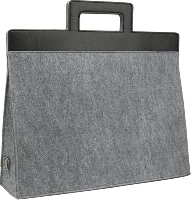 Mad Rabbit Kicking Tiger Henry Briefcase Elephant Grey - Mad Rabbit Kicking Tiger Non-Wheeled Business Cases