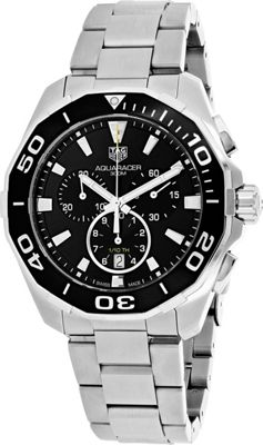 Tag Heuer Watches Tag Heuer Men's Aquaracer Watch Black - Tag Heuer Watches Watches