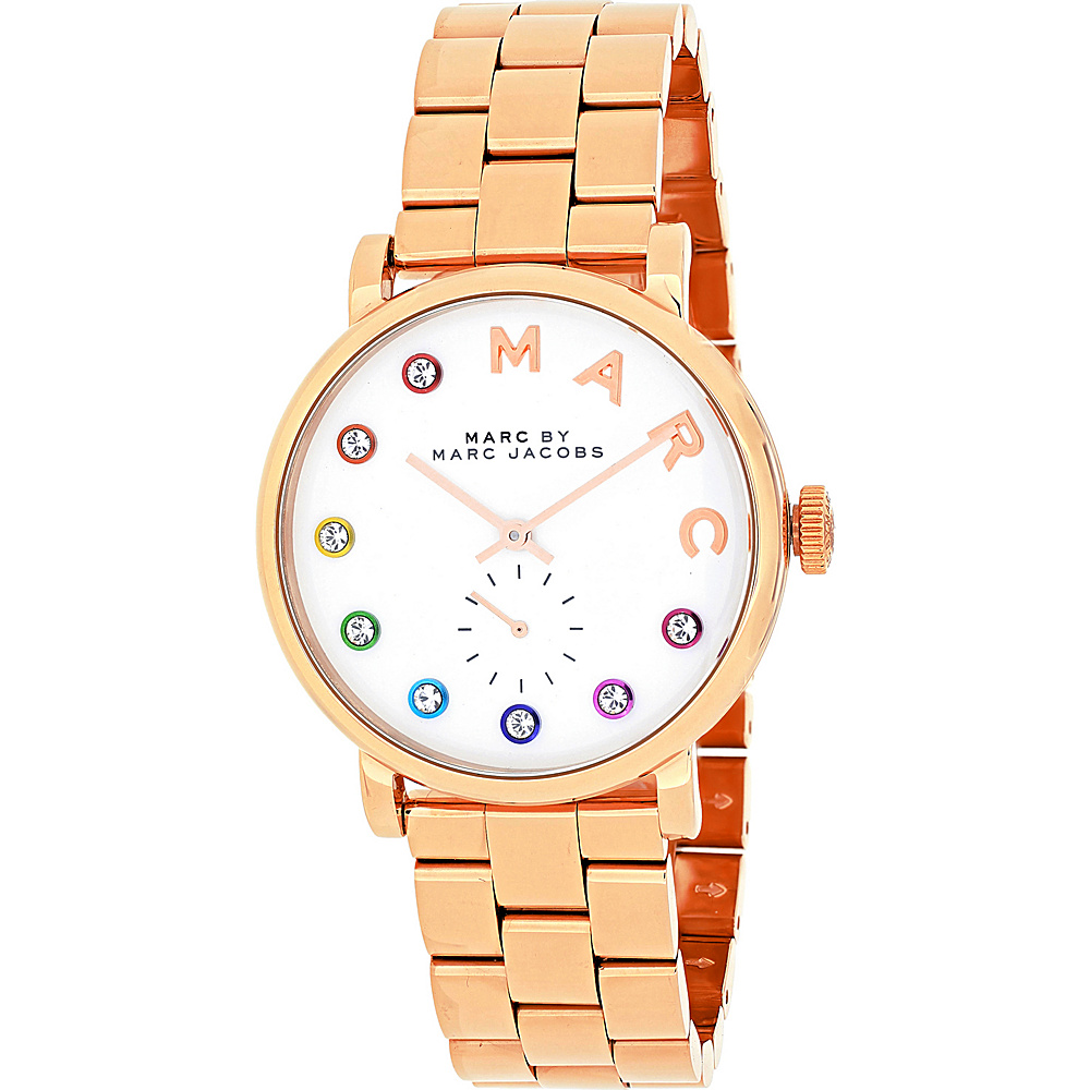 Marc Jacobs Watches Women's Baker Watch White - Marc Jacobs Watches Watches