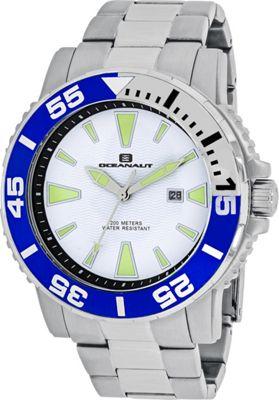 Oceanaut Watches Men's Marletta Watch White - Oceanaut Watches Watches